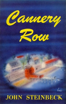 steinbeck and screens-cannery row