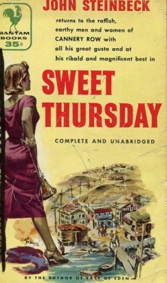 steinbeck and screens-sweet thursday